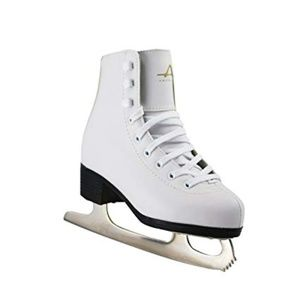 American Girl's Tricot Lined Figure Ice Skates